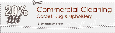 Cleaning Coupons | 20% off commercial cleaning | Carpet Cleaning Manhattan