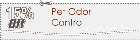 Cleaning Coupons | 15% off pet odor control | Carpet Cleaning Manhattan