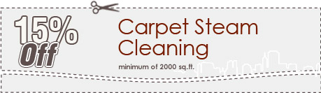Cleaning Coupons | 15% off carpet steam cleaning | Carpet Cleaning Manhattan