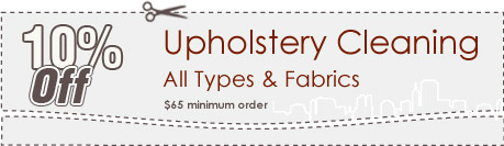 Cleaning Coupons | 10% off upholstery cleaning | Carpet Cleaning Manhattan